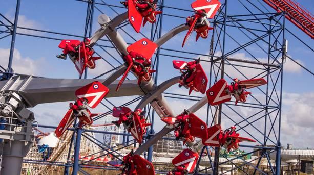 Skyforce at Blackpool Pleasure Beach