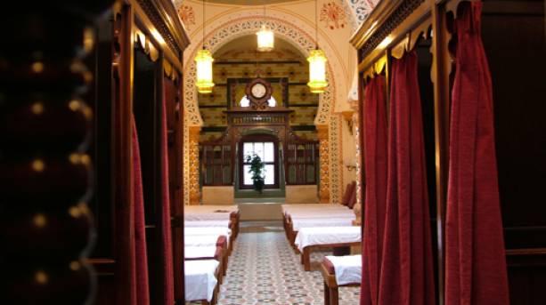 Inside the Turkish Baths in Harrogate