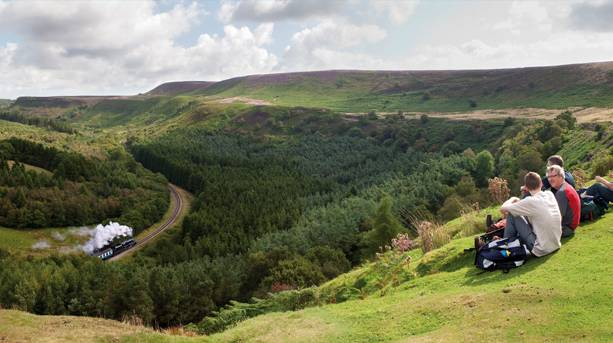 Spectacular landscapes on a magical journey through Newtondale
