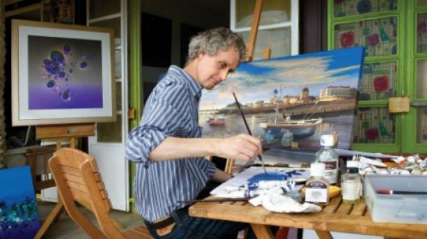 Splash Point art studios in Worthing