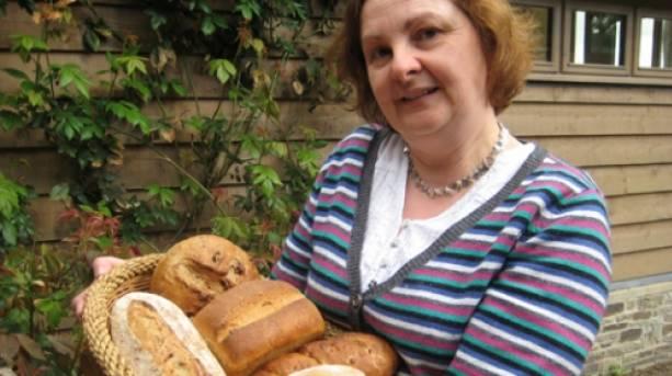 Bread Making at Acton Scott, near Church Stretton, Shropshire