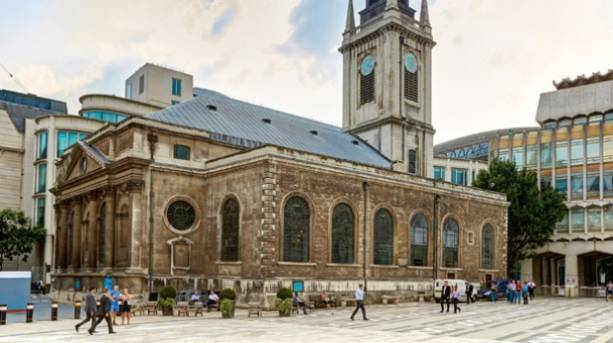 St Lawrence Jewry in London, England