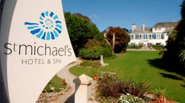 St Michael's Hotel & Spa; Cornwall