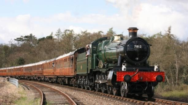 Steaming along the Severn Valley Railway