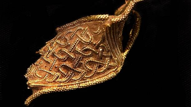 Staffordshire Hoard at the Potteries Museum & Art Gallery