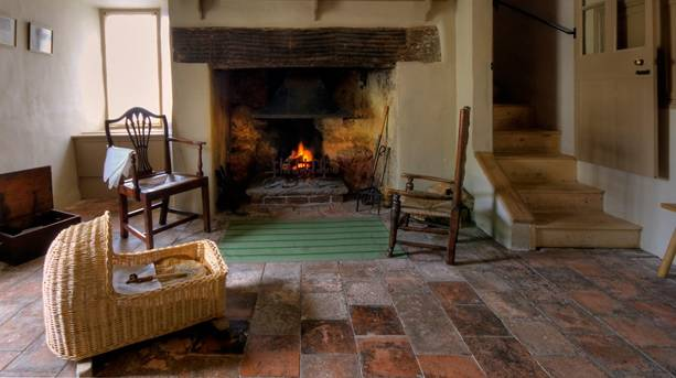 Start your journey with a trip to Coleridge Cottage, owned by the National Trust
