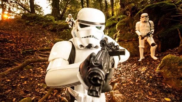 Puzzlewood, Star Wars film location