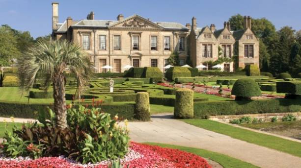Coombe Abbey Hotel West Terrace in Coventry, England
