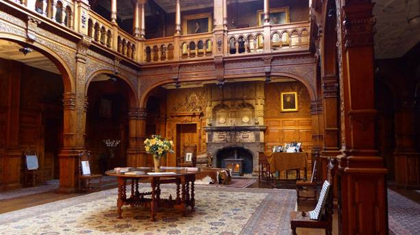 The Great Hall at Stokesay Court