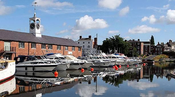 Stourport-on-Severn Canal Basins