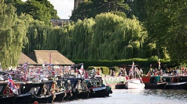 The Stratford River Festival in Stratford-upon-Avon