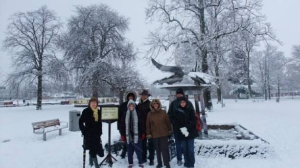 Stratford Town Walk - festive walk