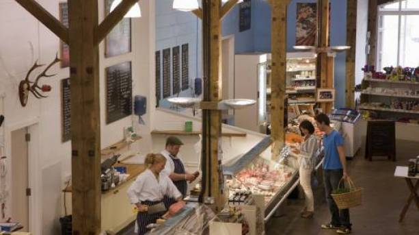 Enjoy East Anglian delicacies at the amazing Suffolk Food Hall