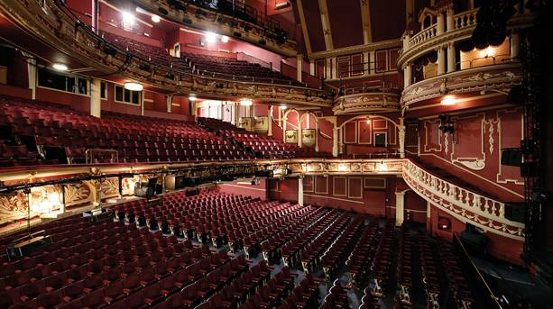 Empty auditorium at Sunderland Empire