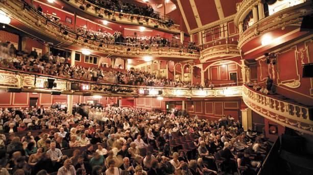 Full auditorium at Sunderland Empire