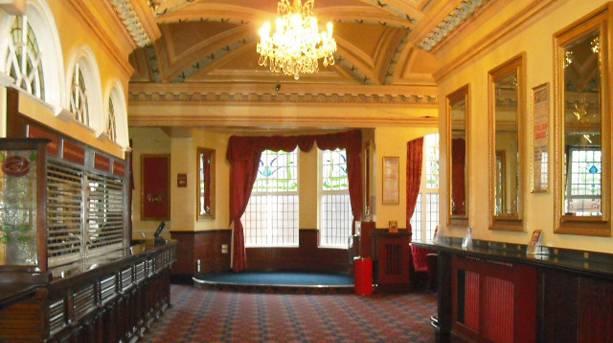 Dress circle bar at Sunderland Empire