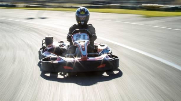 Go Karting action shot