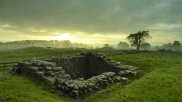 Sunrise from Birdoswald Roman Fort © Cumbria Tourism