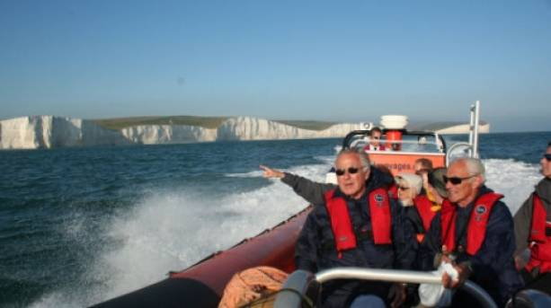 Sussex Voyages adventure boat trip