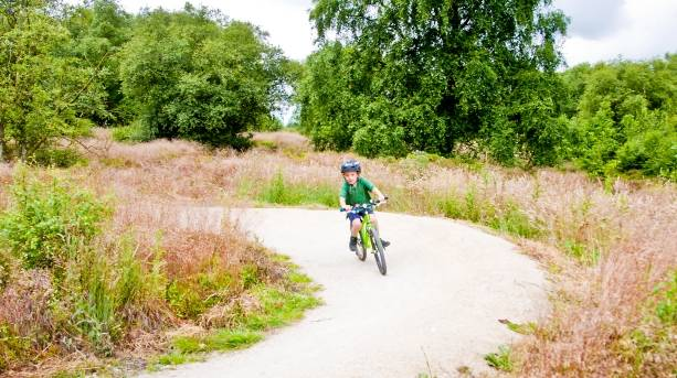 Cycling skills area at Sutton Bank