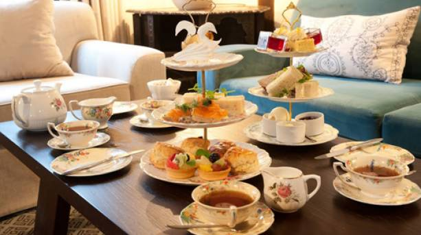 Afternoon tea at The Swan in Lavenham