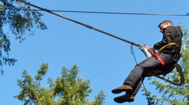 Try the only tree to tree zipline in the UK!