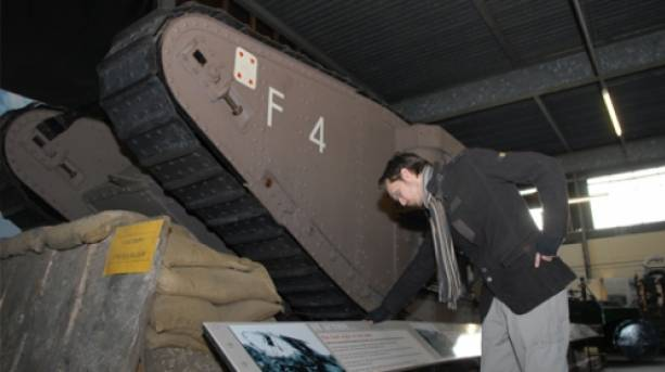 Flirt' the tank at the Museum of Lincolnshire Life