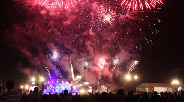 Fireworks at Proms in the Park