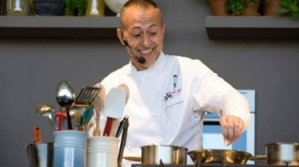 Michel Roux Jr is one of the many celebrity chefs who will be giving cooking demonstrations at the Taste of Christmas event in the Tobacco Docks, London, in November