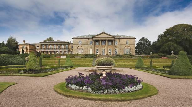 The Tatton Park Mansion and Italian Garden
