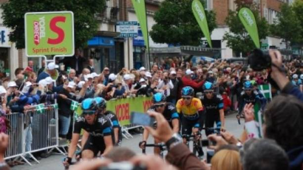 The Tour Of Britain in Exeter