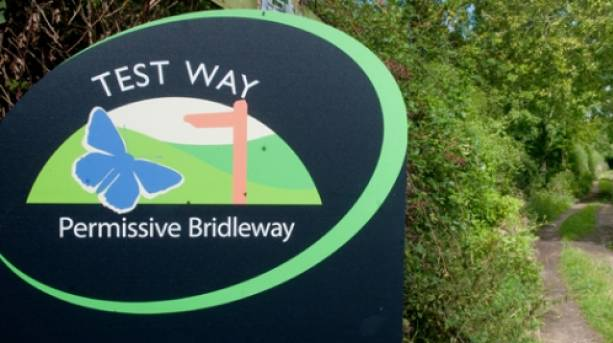 The Test Way Sign