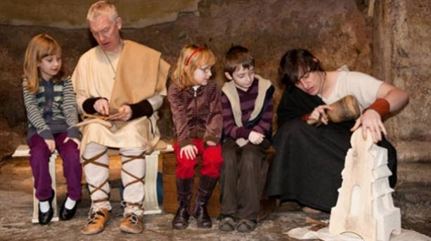 Kids activities at The Roman Baths