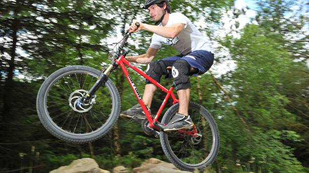 The thrill of mountain biking in Dalby Forest