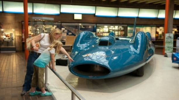 The Bluebird at Beaulieu National Motor Museum, New Forest, Hampshire