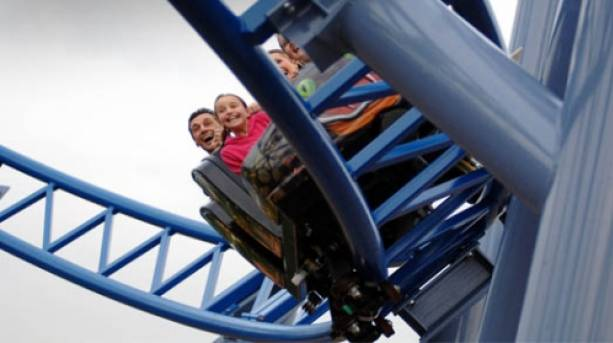 The Cobra at Paultons Park, New Forest, Hampshire