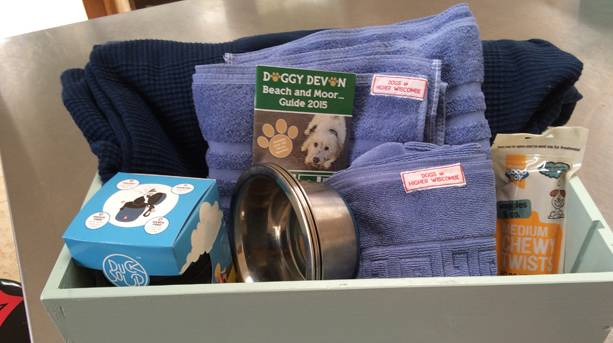 The Doggy Hamper at Higher Wiscombe