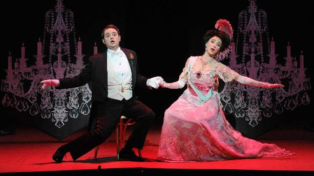 Performance of The Merry Widow