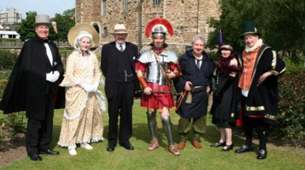 Themed tour guides in Colchester