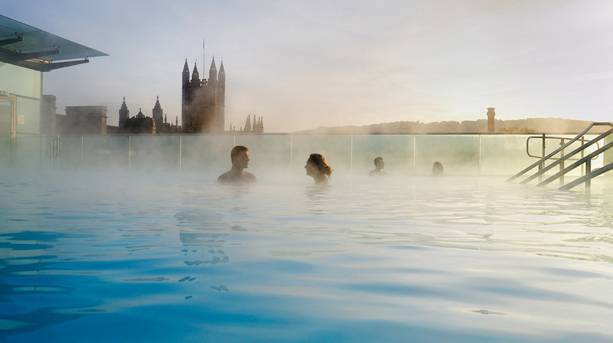 Thermae Bath Spa Rooftop Pool