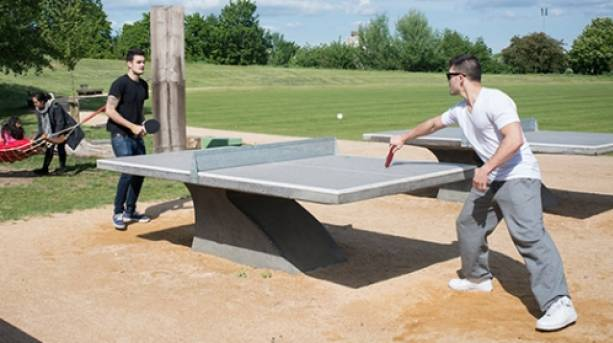 Have a go at table tennis