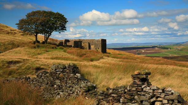 Top Withens, Haworth Moor - the inspiration for Wutghering Heights
