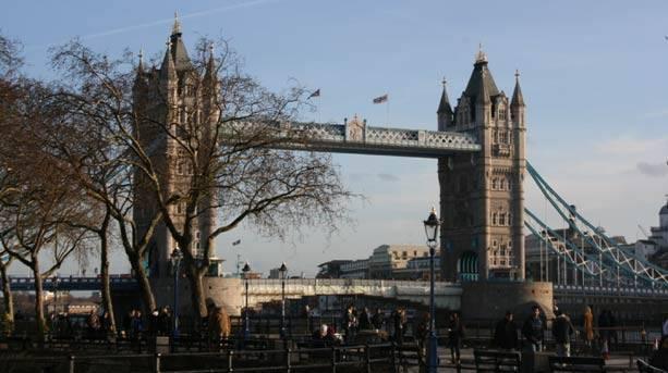 Tower Bridge earrings, London