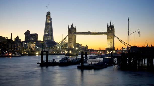 Tower Bridge and the Shard