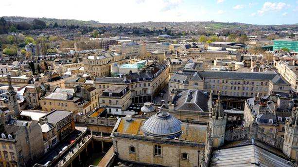 View Over Bath from the Tower