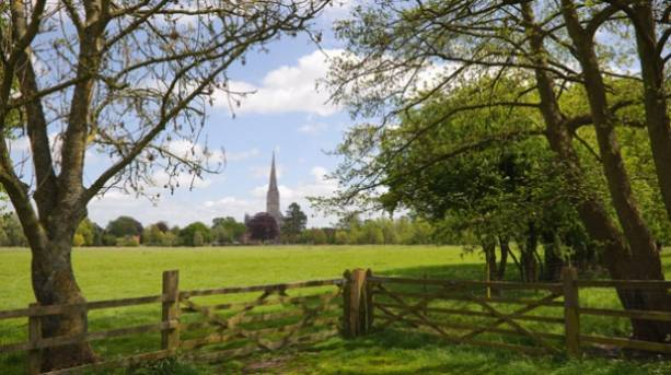 Salisbury Cathedral from the Town Path