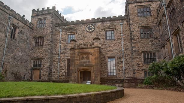 Towneley Hall in Burnley, Lancashire