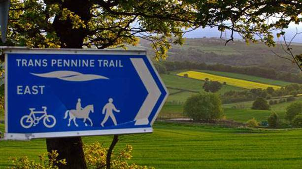 Trans Pennine Trail signage