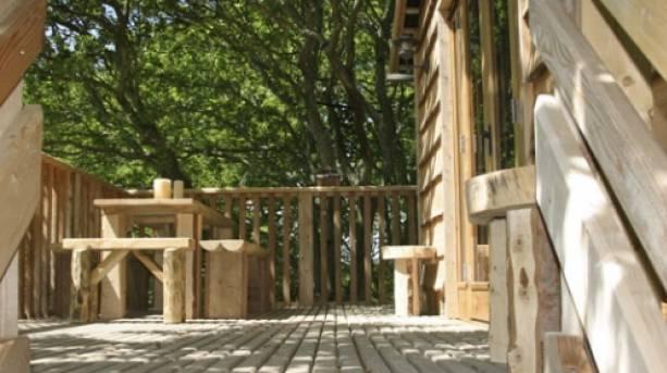 The Treehouse Balcony, Isle of Wight