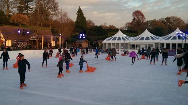 Royal Tunbridge Wells ice skating rink